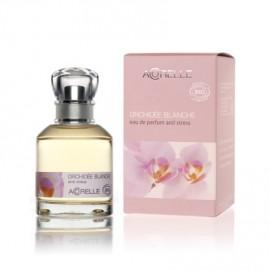Divine Orchidée, eau de parfum anti-stress bio de Acorelle, flacon spray de 50 ml