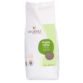 Argile verte surfine d'Argiletz, 1 KG
