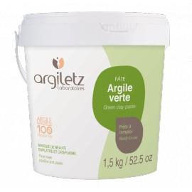 Pot argile verte d'Argiletz, 1,5 KG