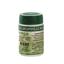 Chlorophylle pure à 95% de Catalyons 120 gélules