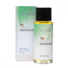 Anti-stress, huiles aux pierres précieuses bio de Farfalla, 80 ml