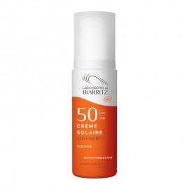 Crème Solaire Visage SPF50 Alga Maris Bio de Laboratoires de Biarritz 50 ml