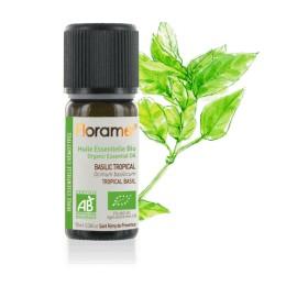 Basilic tropical biologique - ocimum basilicum - Huile essentielle BIO de Florame, 10 ml