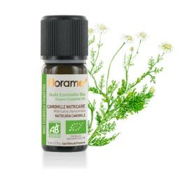 Camomille matricaire biologique - matricaria recutita - Huile essentielle BIO de Florame, 5 ml