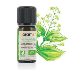 Cannelier écorce biologique - cinnamomum verum - Huile essentielle BIO de Florame, 5 ml