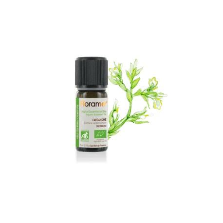 Cardamome biologique - elettaria cardamomum - Huile essentielle BIO de Florame, 5 ml