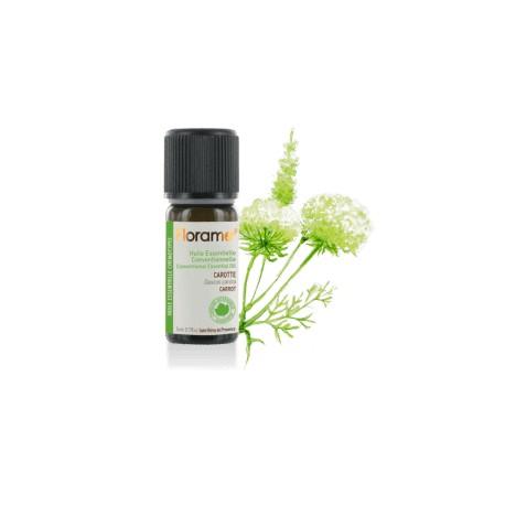 Carotte semence conventionnelle - dancus carota - Huile essentielle de Florame, 5 ml
