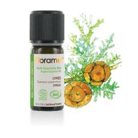 Cyprès biologique, cupressus sempervirens, Huile essentielle de Florame, 10 ml