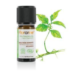 Huile essentielle Gaulthérie biologique BIO de Florame, 10 ml