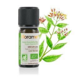 Huile essentielle Giroflier clou biologique BIO de Florame, 10 ml