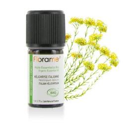 Huile essentielle Hélichryse Italienne biologique BIO de Florame, 5 ml