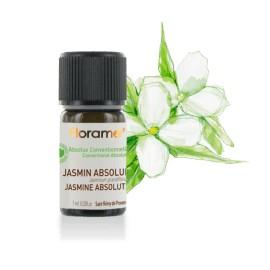 Huile essentielle Jasmin absolue conventionnel de Florame, 1 ml
