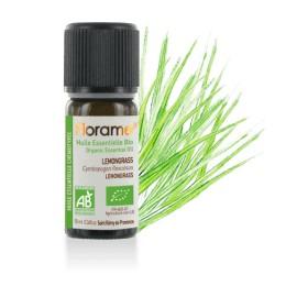 Huile essentielle Lemongrass biologique BIO de Florame, 10 ml