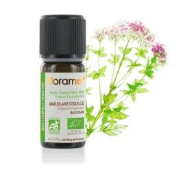 Huile essentielle Marjolaine à coquille biologique BIO de Florame, 5 ml