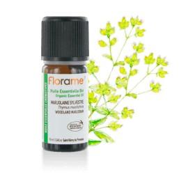 Huile essentielle Marjolaine sylvestre biologique BIO de Florame, 10 ml