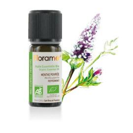 Huile essentielle Menthe poivrée biologique BIO de Florame, 10 ml