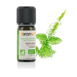 Huile essentielle Menthe verte biologique BIO de Florame, 5 ml