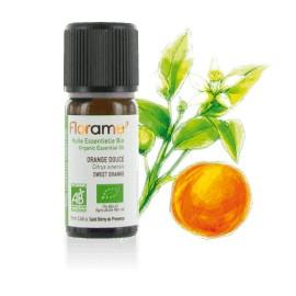 Huile essentielle Orange douce zeste biologique BIO de Florame, 10 ml