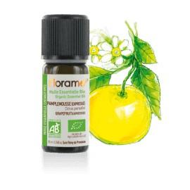 Huile essentielle pamplemousse zeste biologique BIO de Florame, 10 ml