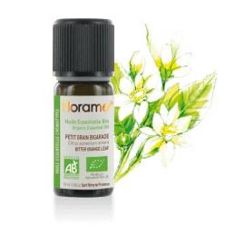 Huile essentielle petit grain bigarade biologique BIO de Florame, 10 ml