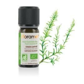 Huile essentielle romarin à camphre biologique BIO de Florame, 10 ml