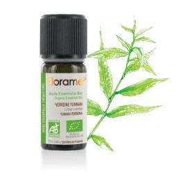 Huile essentielle verveine yunnan biologique BIO de Florame, 10 ml