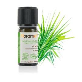 Huile essentielle vétiver biologique BIO de Florame, 5 ml