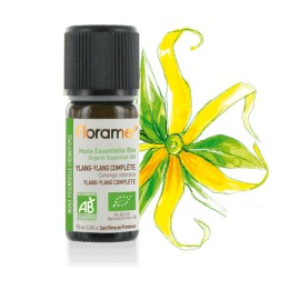 Huile essentielle Ylang Ylang complète biologique BIO de Florame, 10 ml