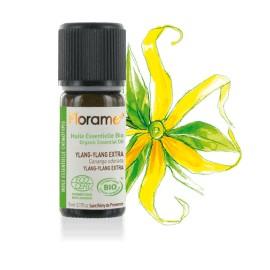 Huile essentielle ylang ylang extra biologique BIO de Florame, 5 ml
