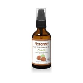 Huile végétale de Noisette BIO de Florame, 50 ml