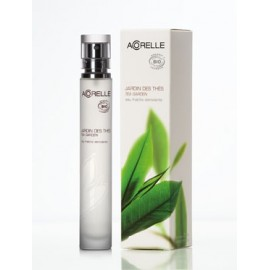 Jardin des thés, eau fraîche stimulante bio de Acorelle, spray de 30 ml