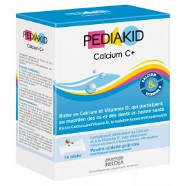 PEDIAKID® CALCIUM C+ d'Ineldea, 14 sticks