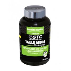 TAILLE ABDOS VENTRE PLAT de STC nutrition (Ineldea), 120 gélules