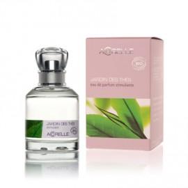 Jardin des thés, eau de parfum stimulante bio, de Acorelle, flacon spray 50 ml