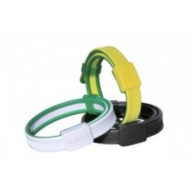 Bracelet antimoustiques blanc vert Mousticare de Phytoactif