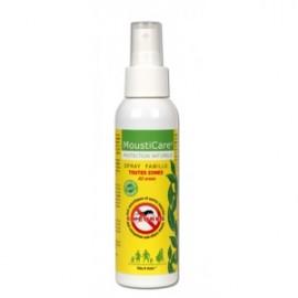 Spray antimoustiques peau famille Mousticare de Phytoactif, 125 ml
