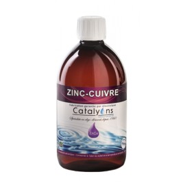 Zinc-Cuivre (Diathèse V) de CATALYONS 500 mL