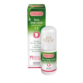 Olioseptil spray gorge-larynx d'Ineldea, 20 ml