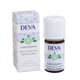 06- Désaccoutumance, élixirs essentiels bio de Deva, 5 ml