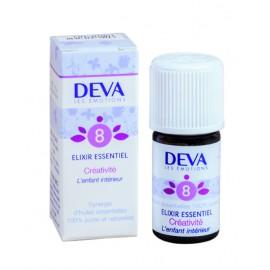 08- Créativité, élixirs essentiels bio de Deva, 5 ml