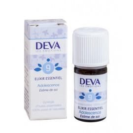 09- Adolescence, élixirs essentiels bio de Deva, 5 ml