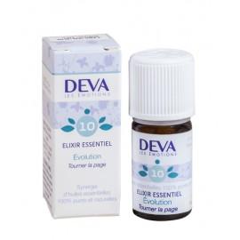 10- Évolution, élixirs essentiels bio de Deva, 5 ml