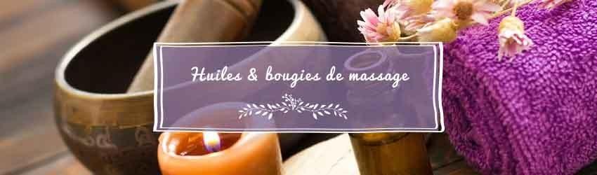 Huilesde massage etbougiesdemassage