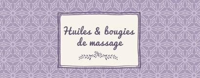 Huiles & bougies de massage